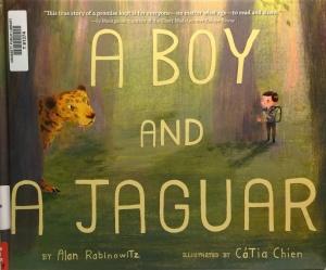 A Boy and a Jaguar Cvr