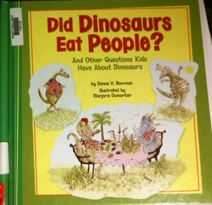 Did Dinosaurs Eat People 1